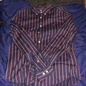 Tommy Hilfiger button up dress shirt